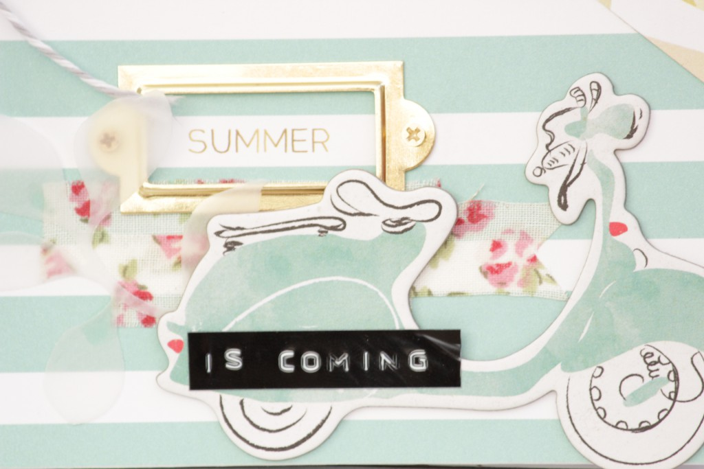 Álbum de Scrapbooking Summer is coming