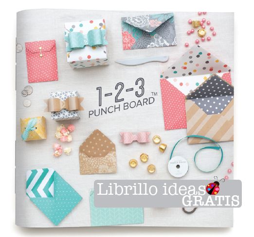 Librillo 1,2,3 Punch Board