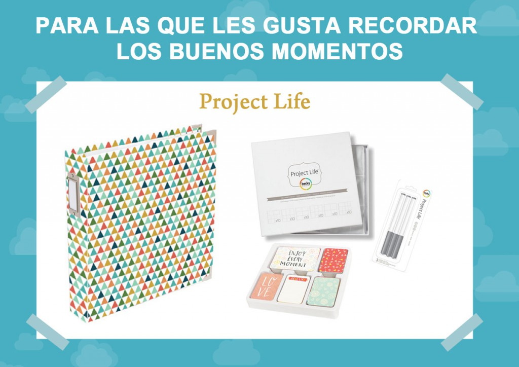 Kits para regalar Project Life