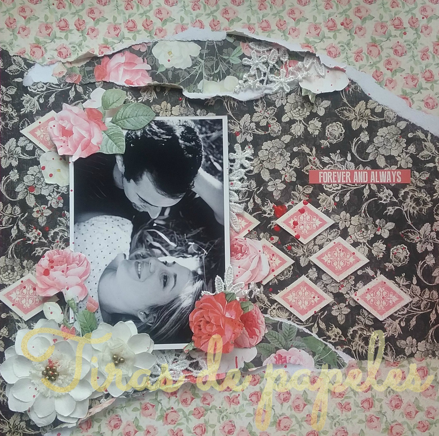 Layout Romantico Graphic45