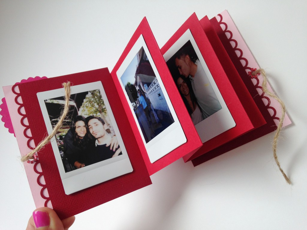 Mini album scrap para nuestras fotograf as instax mini - Idee scrapbooking album photo ...