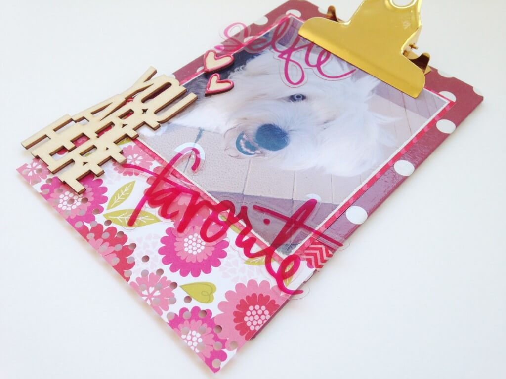 Idea Scrapbooking Clipboard