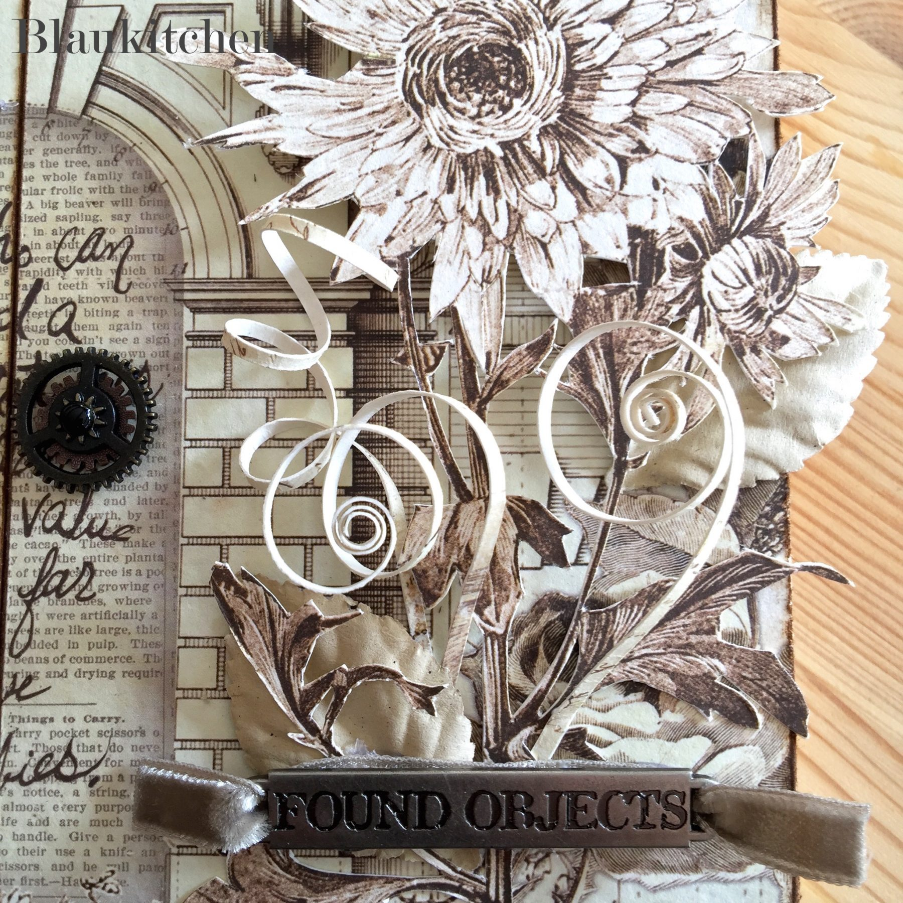 Banda Metalica Decorativa Tim Holtz
