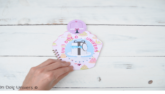 Tutorial Mini Album Cupcake
