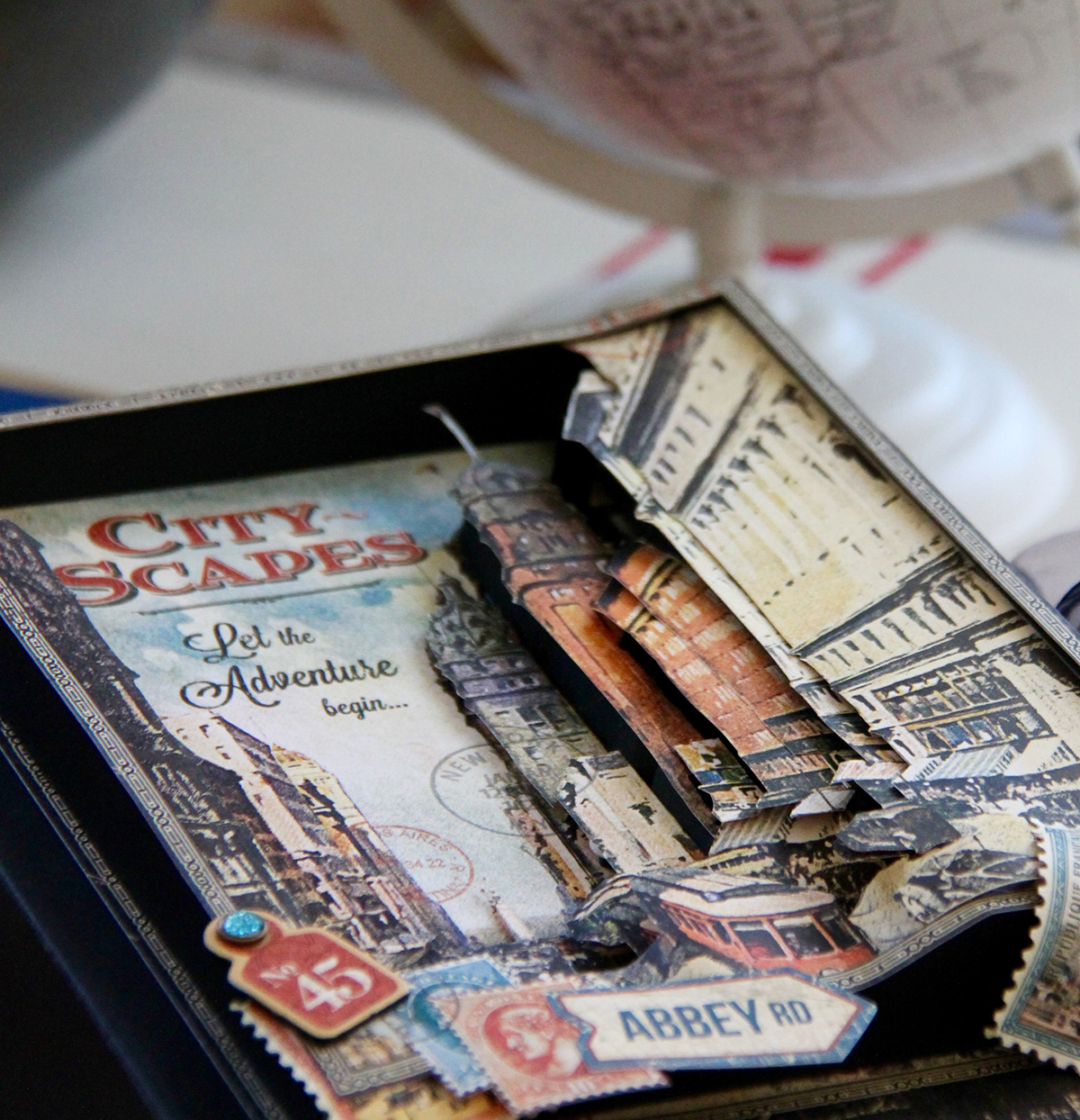 Idea Scrapbooking Vintage