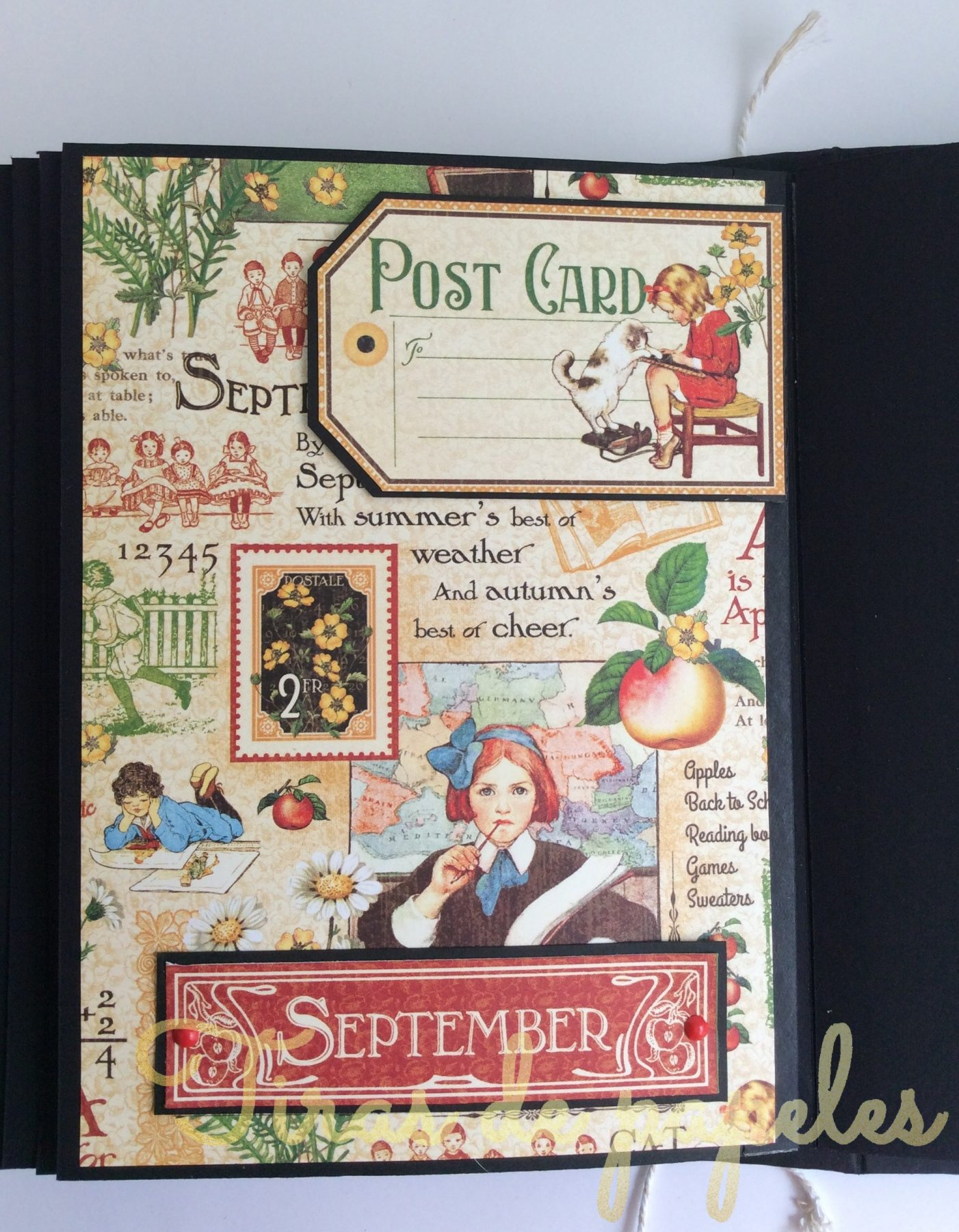 Mini Album Journal con Childrens Hour de G45