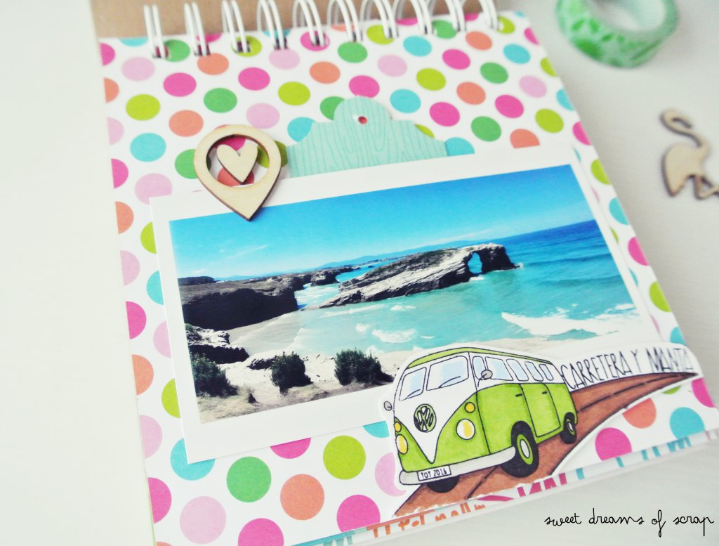 Idea Album Scrapbooking encuadernadora Cinch