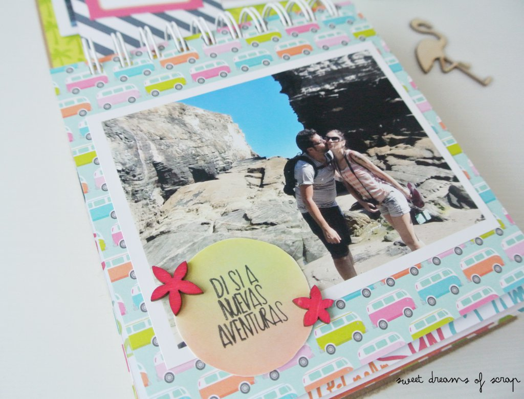 Idea decorar album verano
