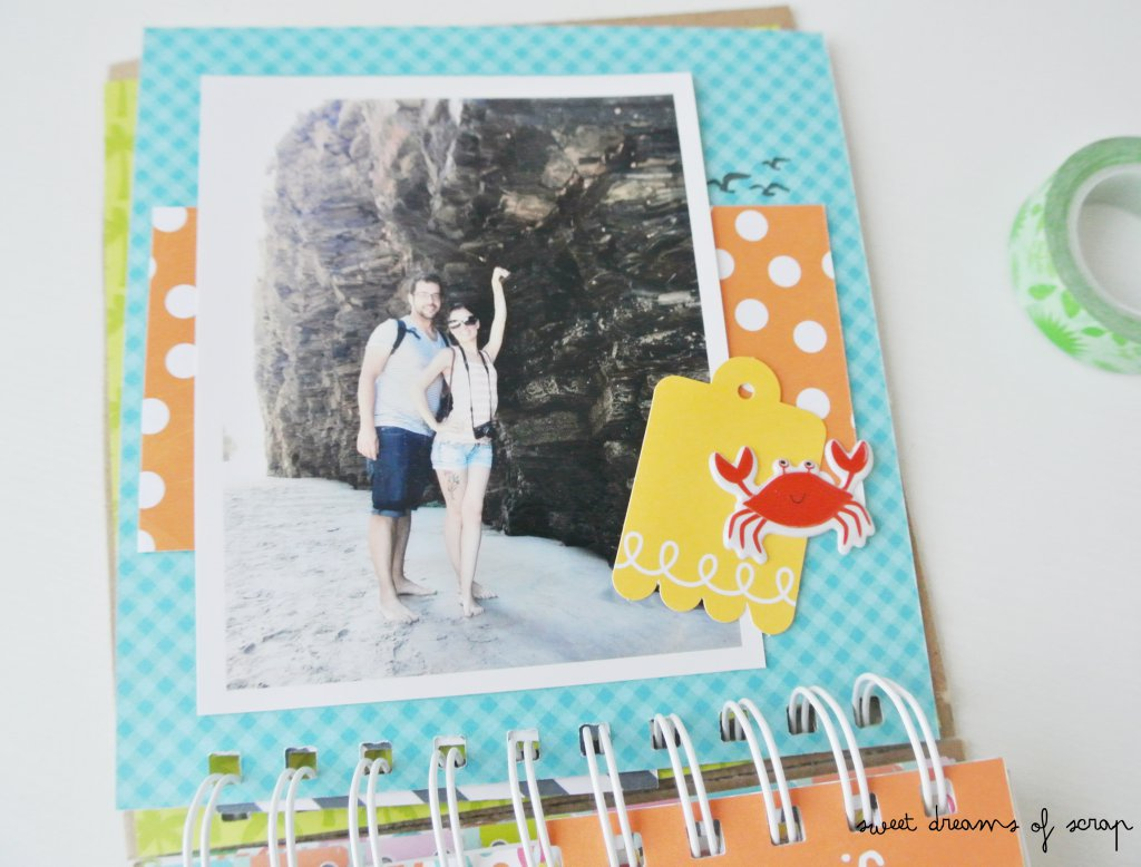 Interior Album Scrapbooking Ideas