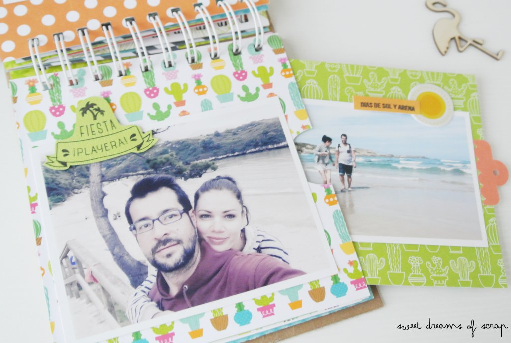 Interior album scrapbooking