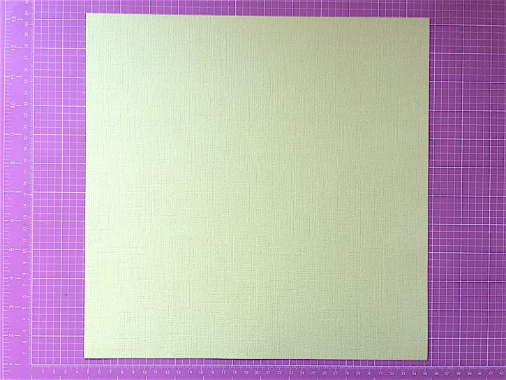 Cardstock color banana