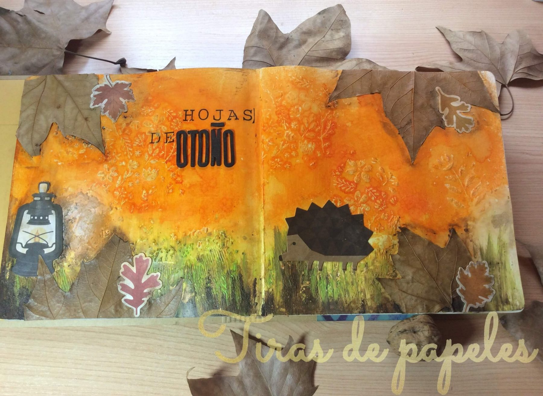 art journal de otoño para principiantes