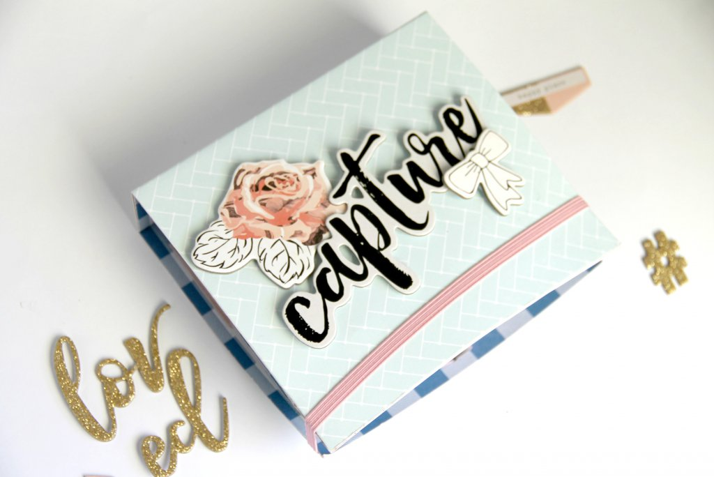 Mini Album Gathe de Crate Paper