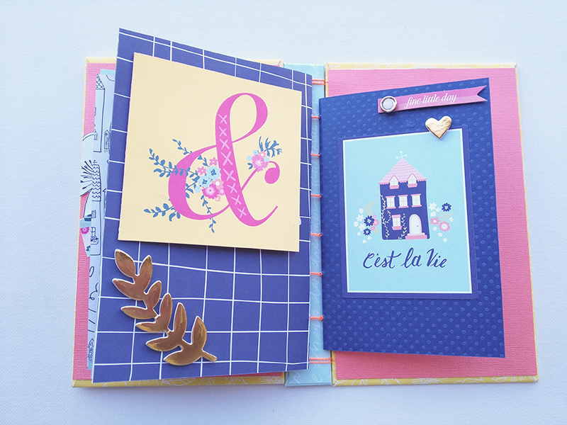 Interior Mini Album Scrapbooking