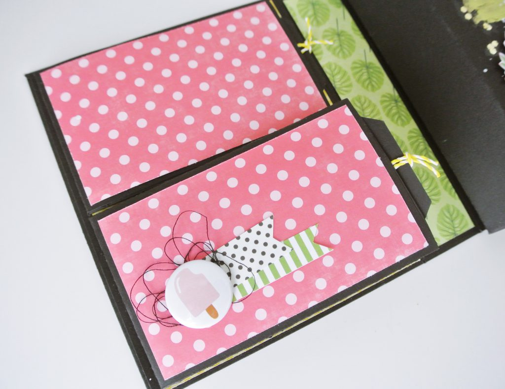 Decoración desplegable scrapbooking