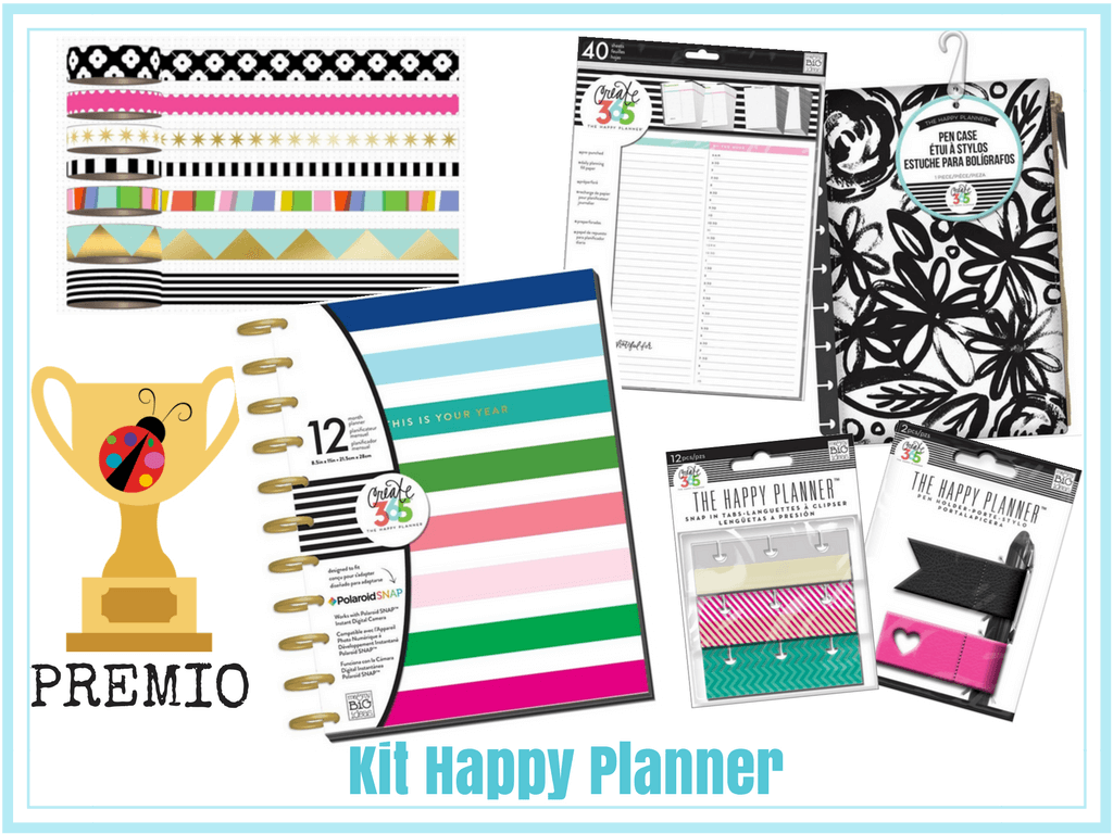 Kit Happy Planner Mambi