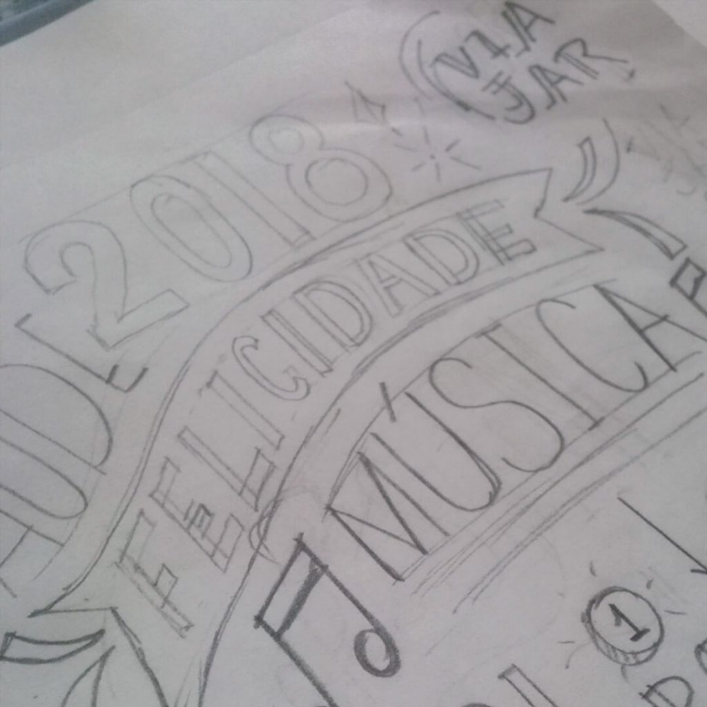layout lettering