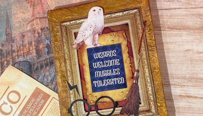 Álbum scrapbooking de Harry Potter