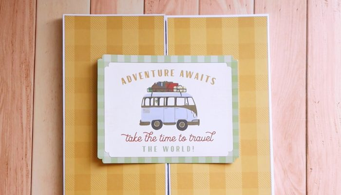 Travel Pack para viajes de scrapbooking